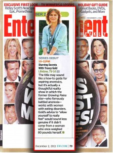 Tracey Gold in Entertainment Weekly