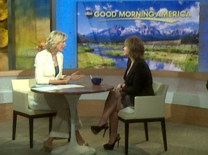 Tracey Gold on Good Morning America